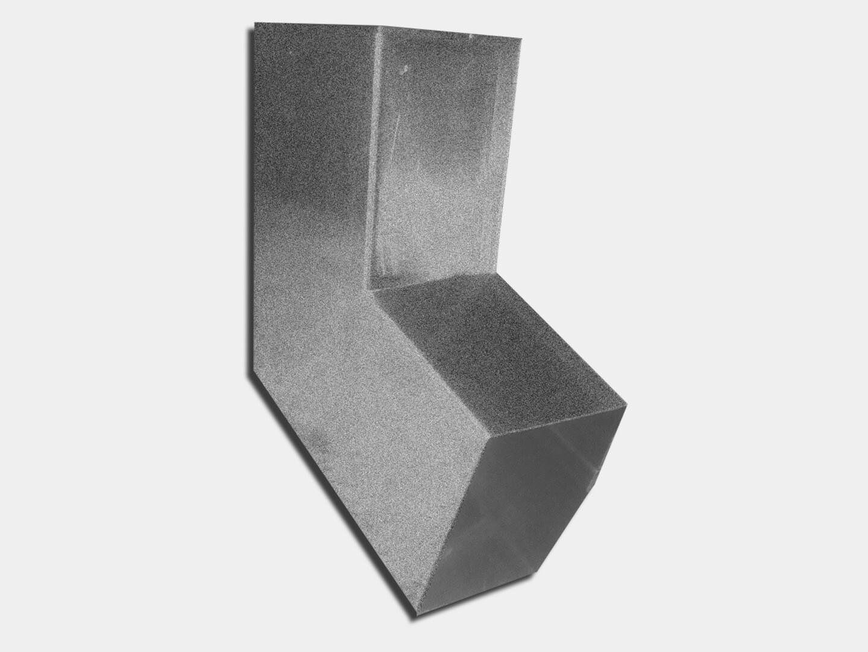 Plain Square Galvalume Plus Elbow (B) Style