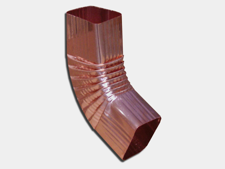 Square Corrugated Copper Elbow (B) Style