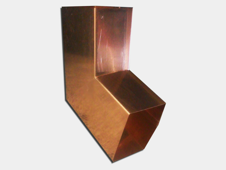 Plain Square Copper Elbow (B) Style