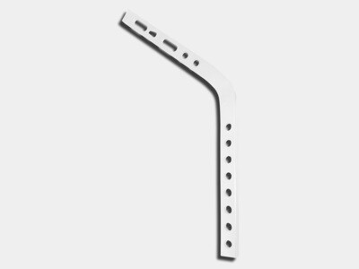 #11 Shank for Aluminum Gutter Hanger on Exposed Rafter