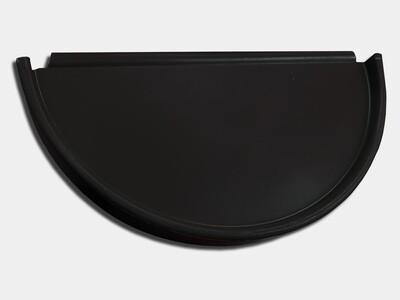 Half Round Kynar Steel Gutter End Cap