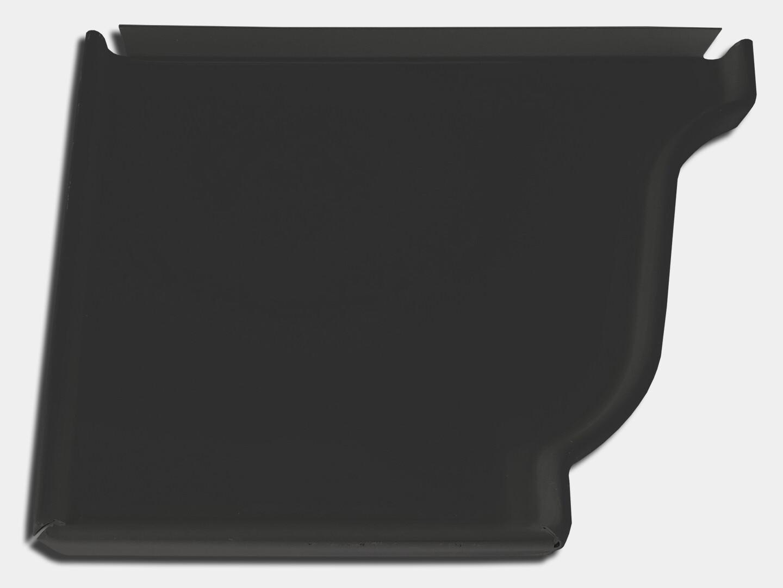 K-Style Kynar Steel Gutter Left End Cap
