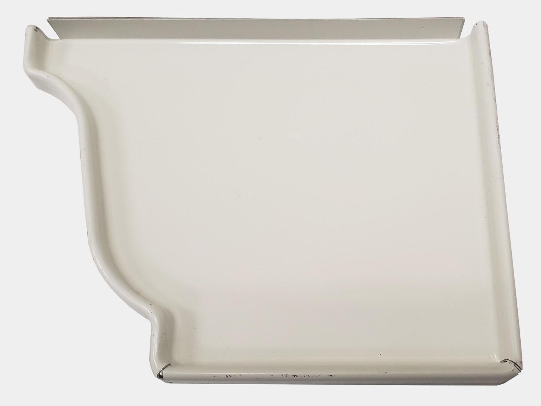 K-Style Aluminum Gutter Right End Cap