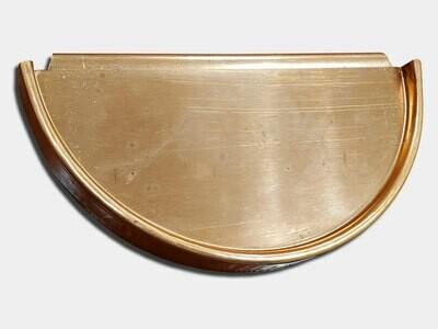 Half Round Copper Gutter Universal End Cap