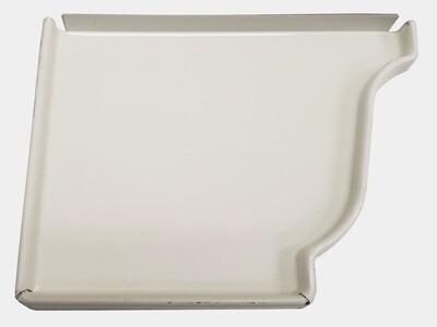K-Style Aluminum Gutter Left End Cap