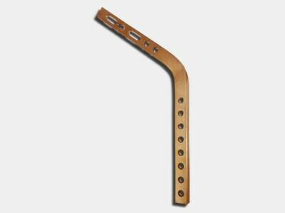#11 Shank for Copper Gutter Hanger on Exposed Rafter