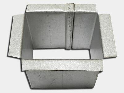 Custom Plain Square and Rectangular Gutter Outlet