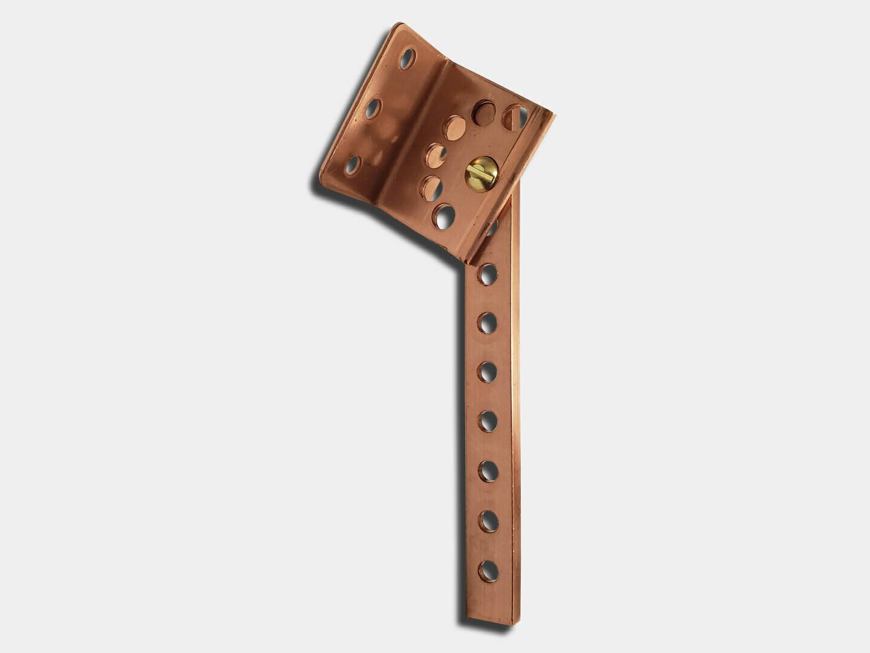 #30 Adjustable Pitch Copper Gutter Shank