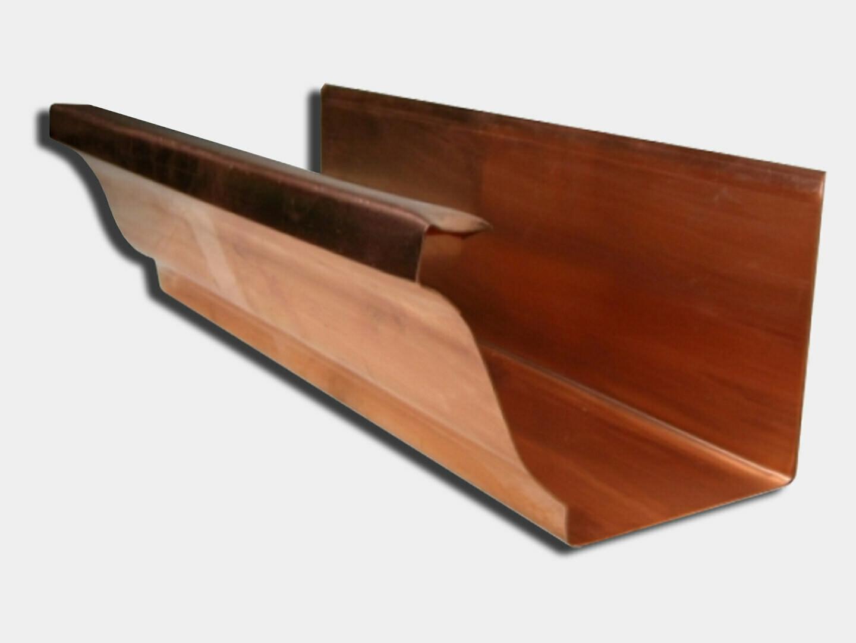 Copper K-Style Gutter /