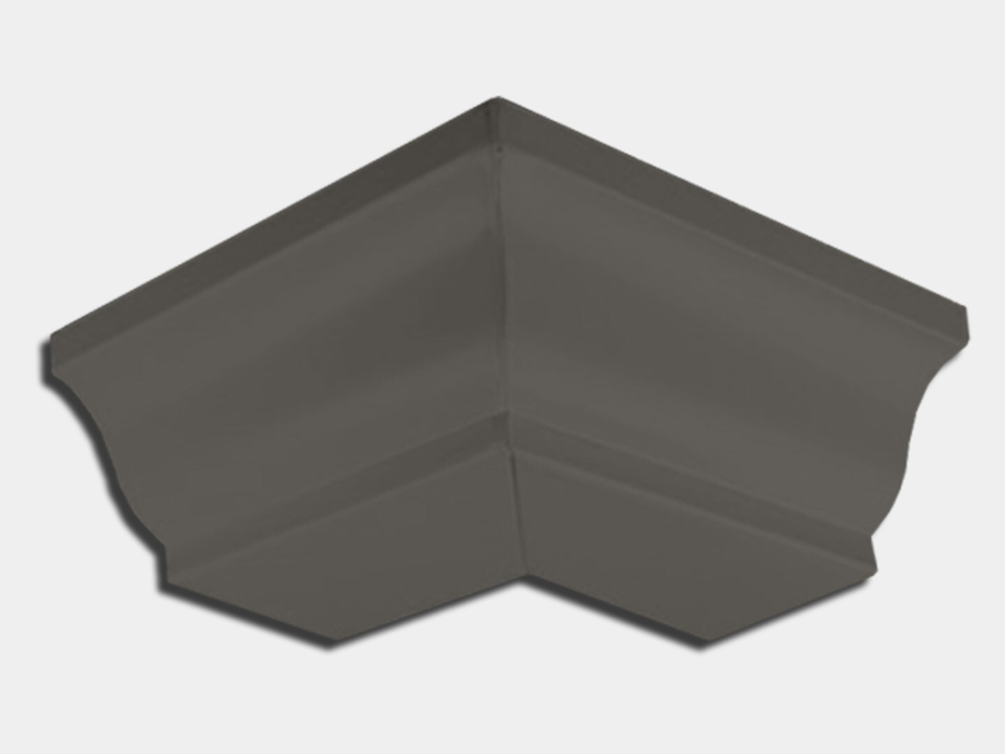 Kynar Steel K-Style Gutter Outside Miter