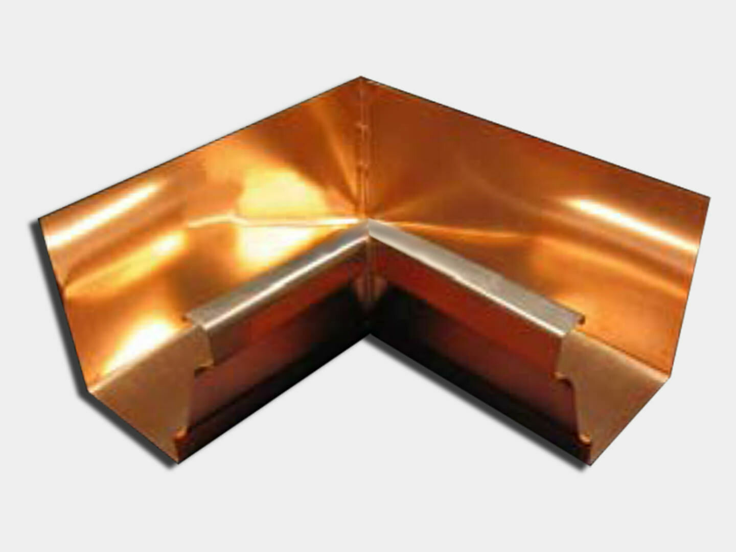 Copper K-Style 90 Degree Inside Miter