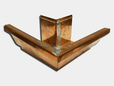 Copper K-Style 90 Degree Outside Miter