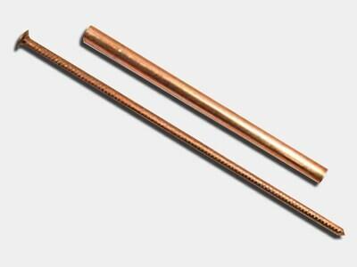Copper Spike & Ferrule