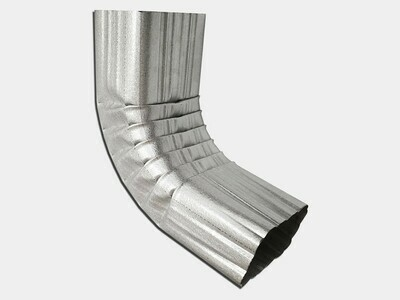 Square Corrugated Galvalume Elbow (A) Style