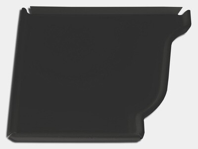 K-Style Gutter Kynar Steel Left / Right End Cap
