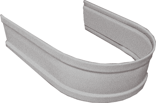Galvalume Standard Round Downspout Strap