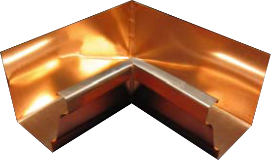 Copper K Style 90 Degree Inside Miter