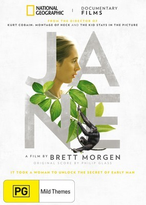 Jane, a National Geographic Movie DVD