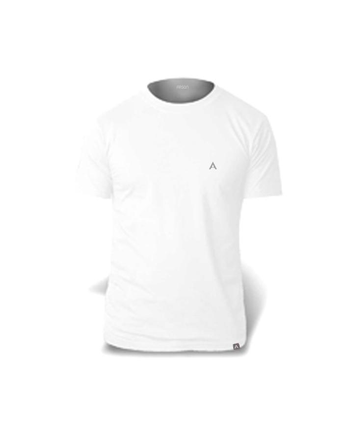 T-Shirt Crew White