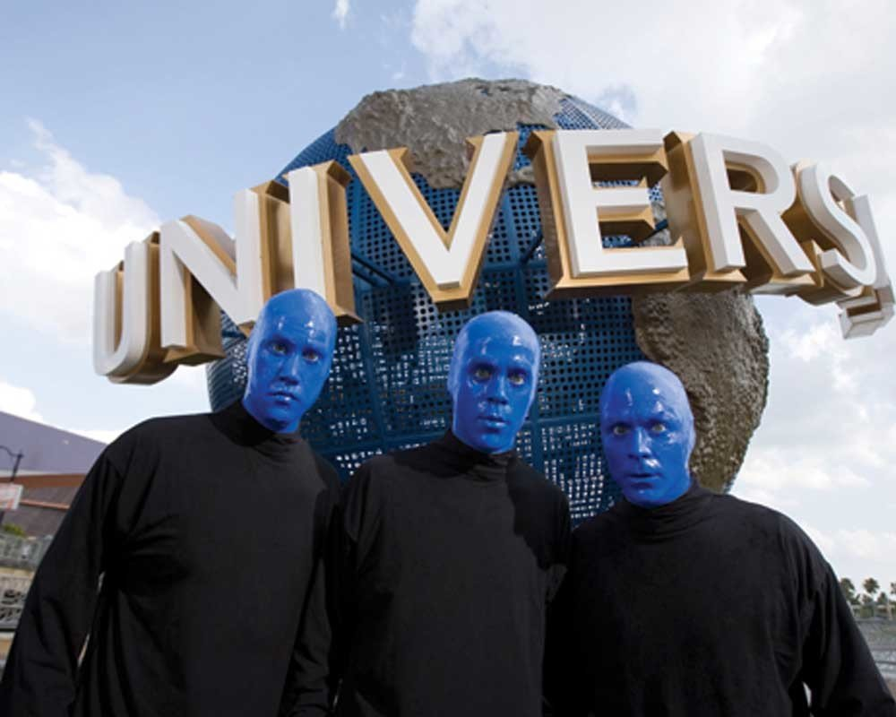BLUE MAN GROUP TIER 1 & 2 - Age 3-9