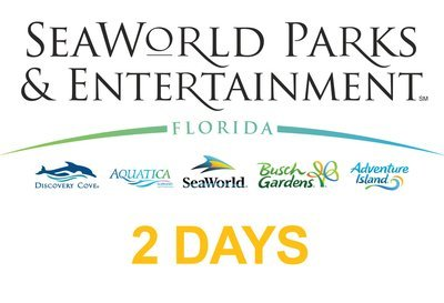 SeaWorld Multi Parks Adventure 2(two) days Ticket