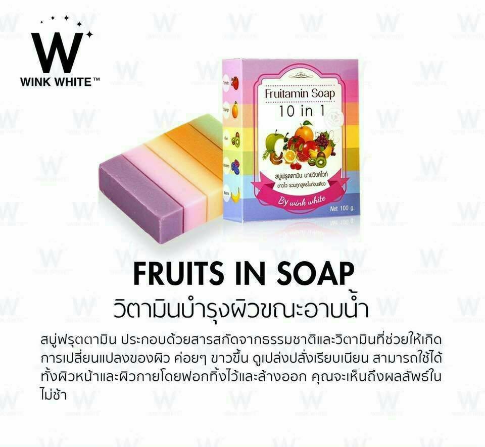 Fruitamin 10 In 1 Soap 10013
