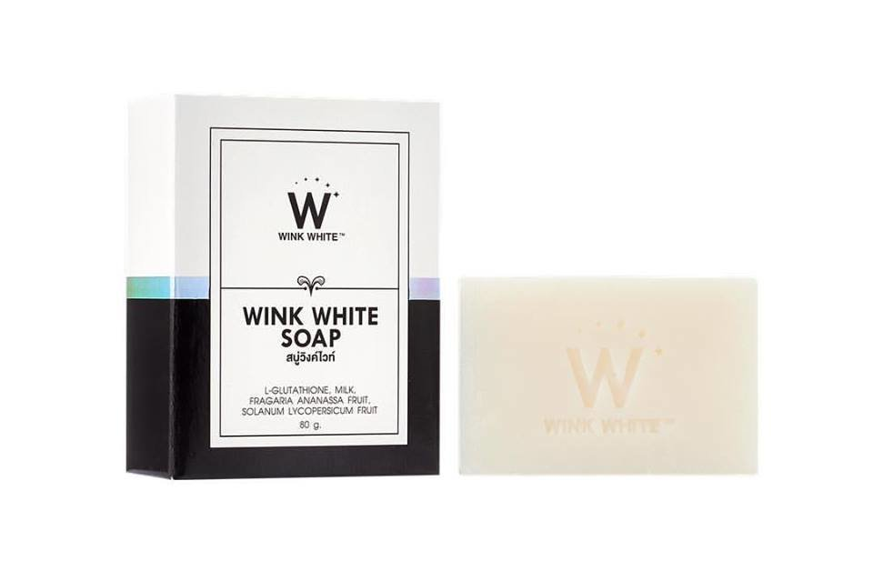 New! Wink White Soap Wholesale 100 Pieces 10014
