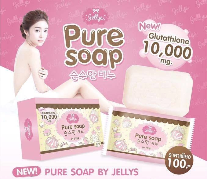 Pure Soap By Jellys 10018