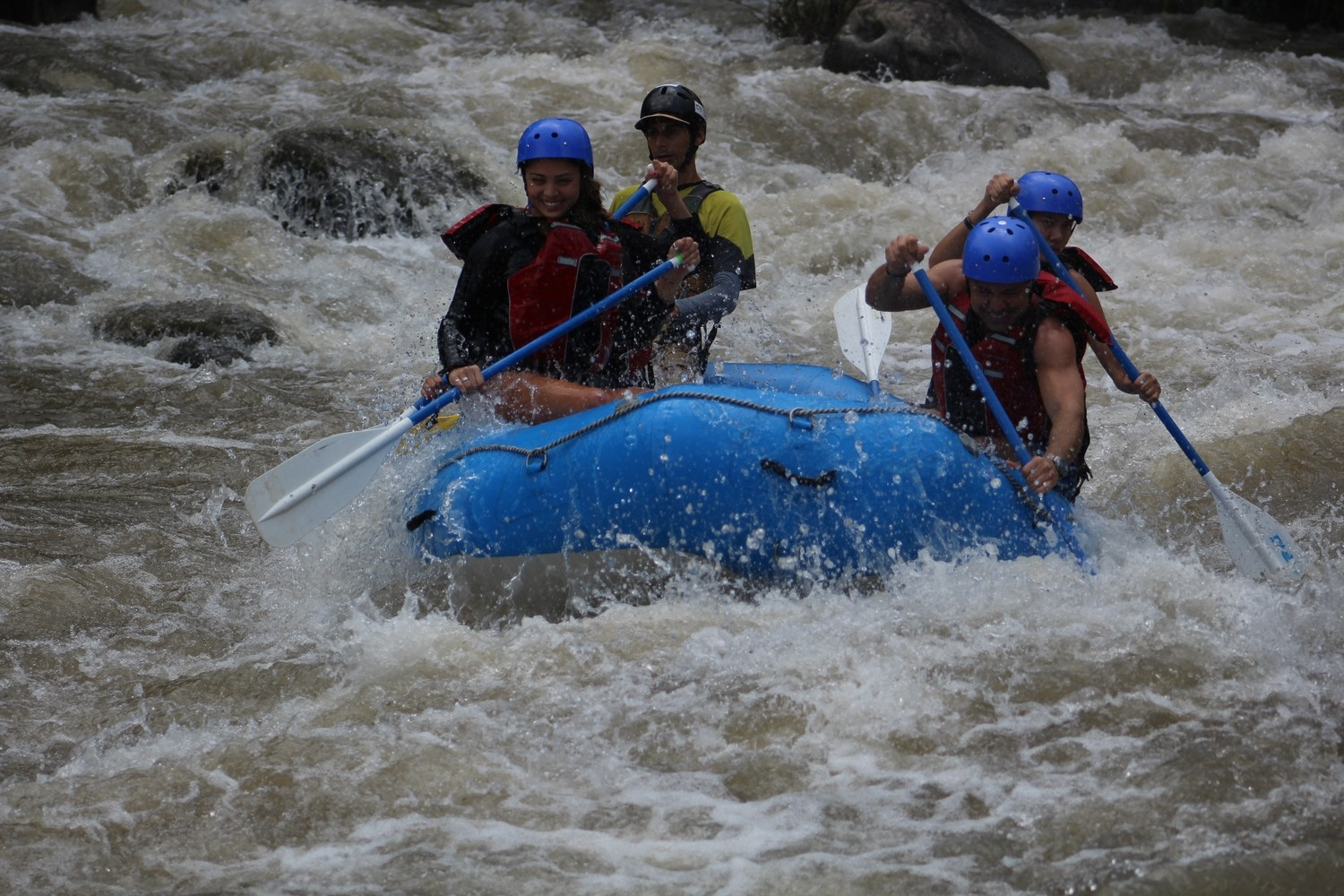 Half Day Rafting - Balsa River II-III