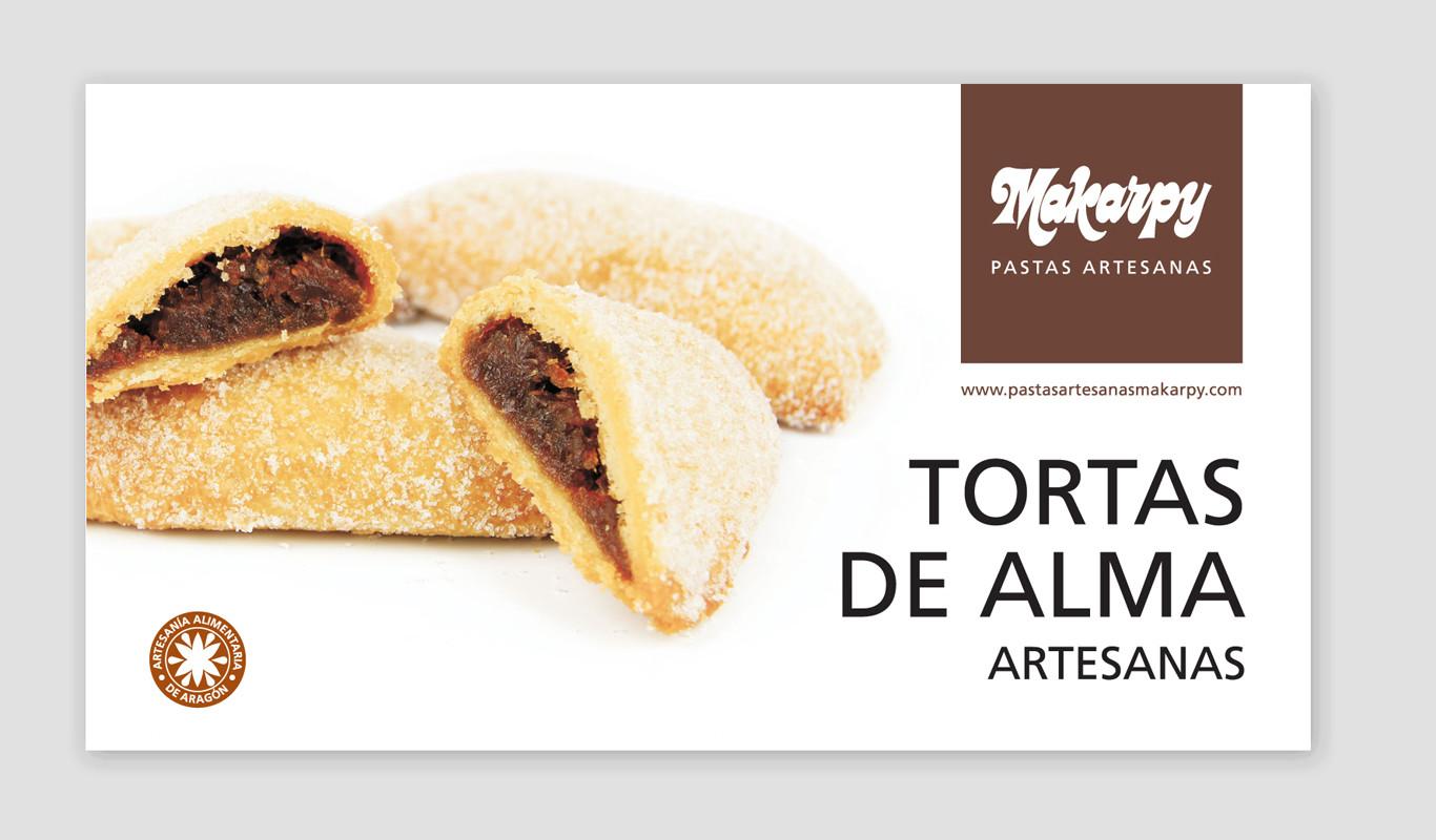 Cajita de Tortas de Alma Artesanas Makarpy