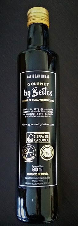 Aceite Oliva Virgen Extra Denominación de Origen de Sierra de Cazorla, 500 ml. - Gourmet by Beites