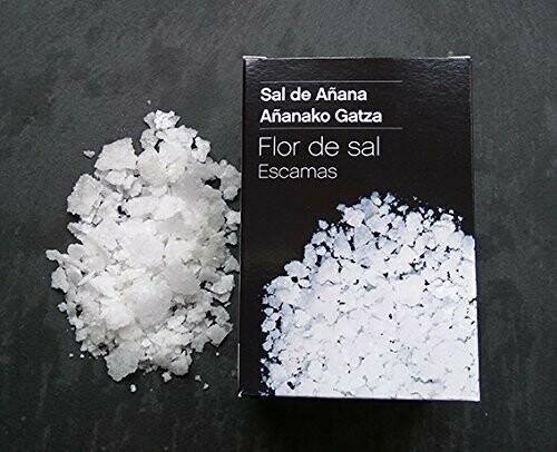 Escamas de Flor de Sal de Añana, caja 125g - Gourmet by Beites