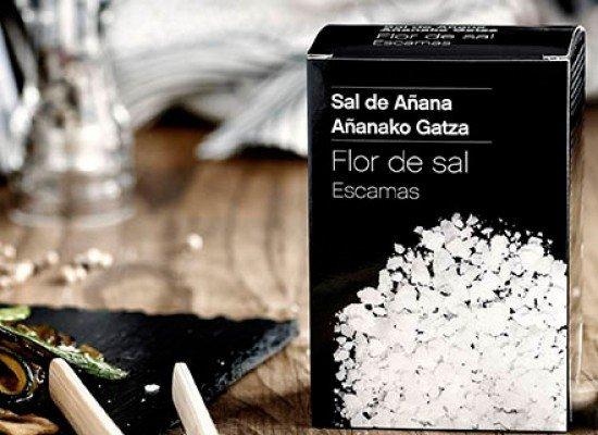 Escamas de Flor de Sal, caja 125g