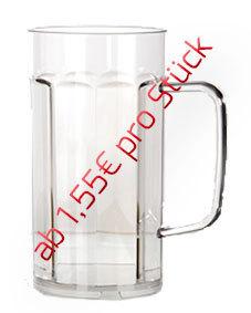 0,20l Bierkrug/Bierseidel - 48 Stück für