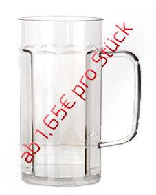 0,30l Bierkrug/Bierseidel - 48 Stück für