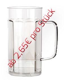 0,50l Bierkrug/Bierseidel - 12 Stück