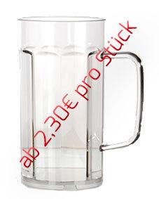 0,40l Bierkrug/Bierseidel - 12 Stück für