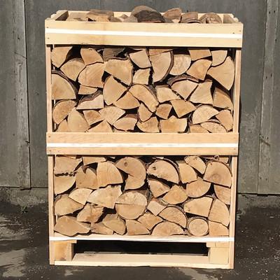 Mini Crate Kiln Dried Silver Birch Logs