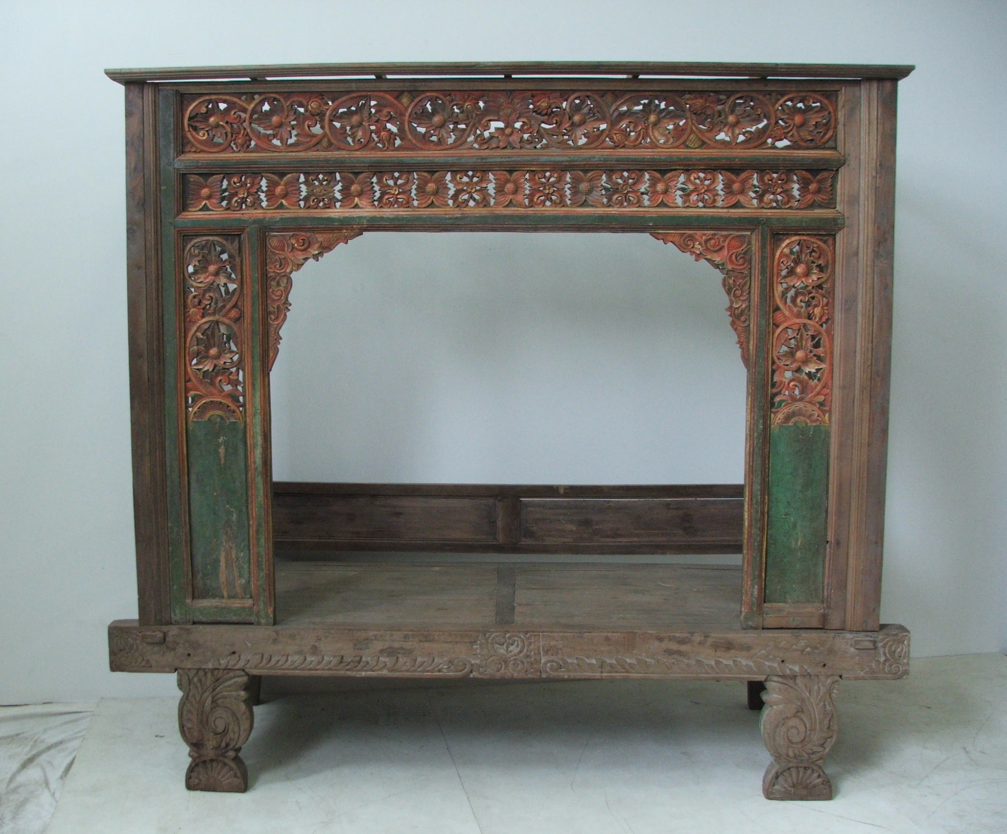 Antique Indonesian Wedding Bed. Indonesian Wedding Bed