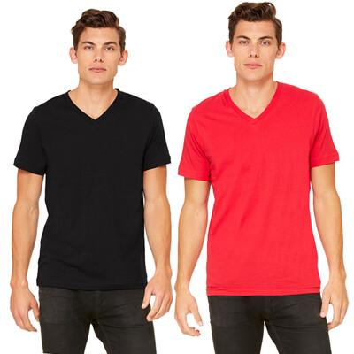 V-Neck T-shirt Canvas : GA DANCE DAWGS