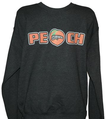 Peach Sweatshirt Glitter