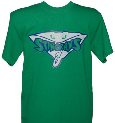 Stingrays Animal Green T-shirt