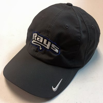 Rays Black Nike Baseball Hat