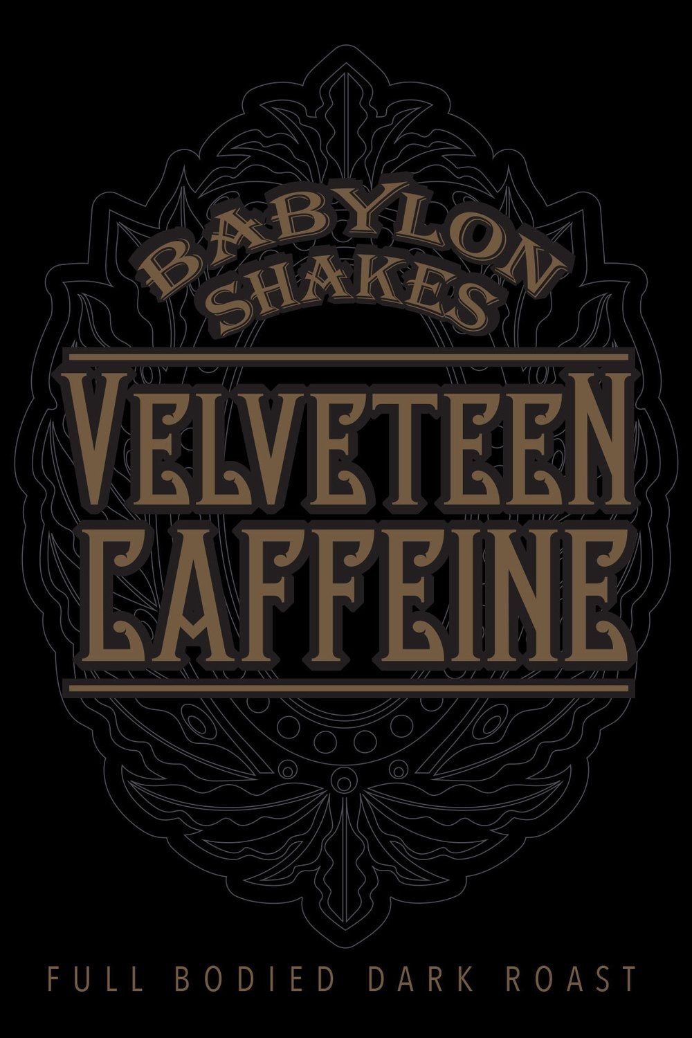 Babylon Shakes Signature Roast Coffee - 'Velveteen Blend'