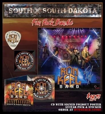 Ron Keel Band - SXSD Fan Pack Bundle