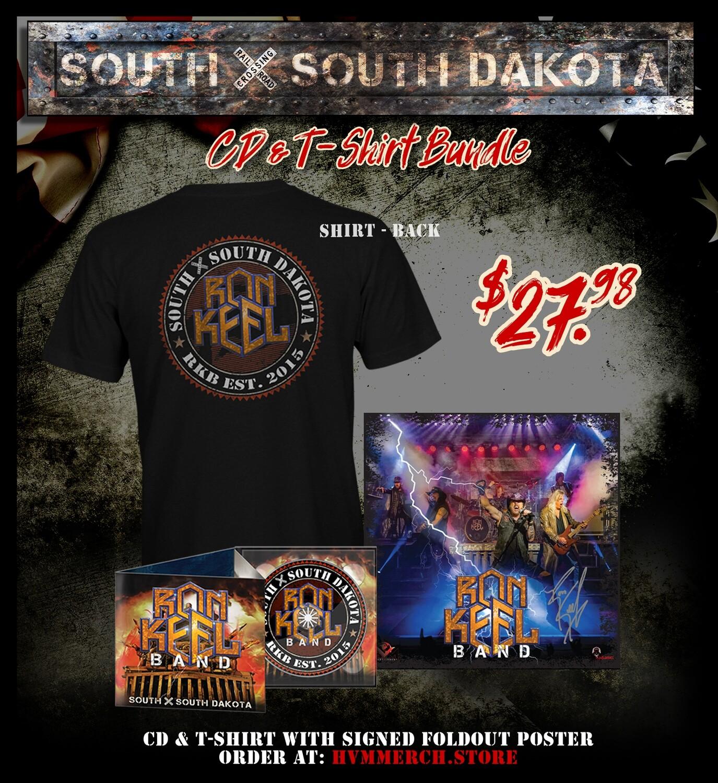 SXSD CD T-Shirt Bundle