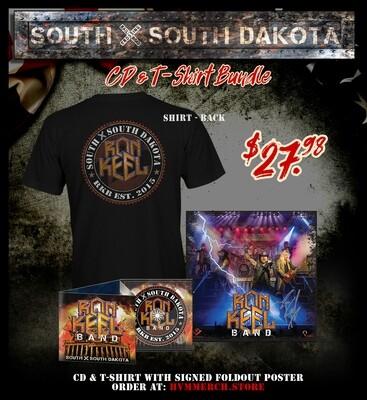Ron Keel Band - SXSD CD T-Shirt Bundle