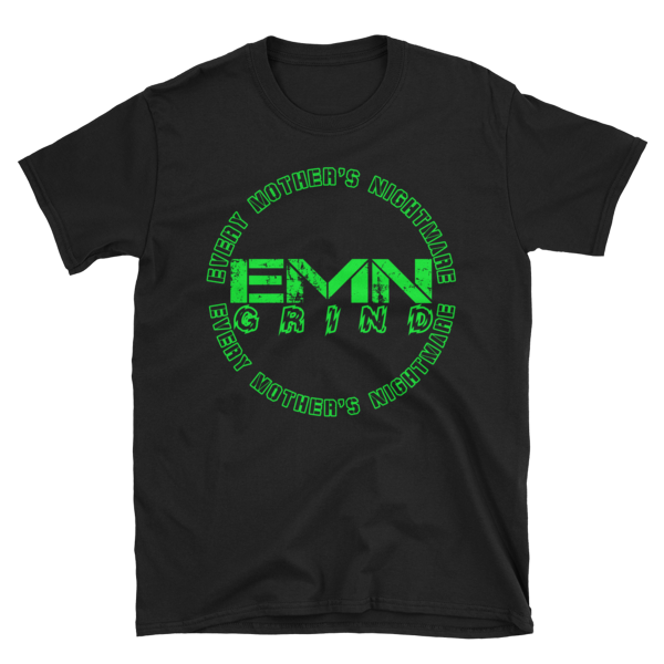 Every Mother's Nightmare Green Logo T-Shirt EMNGLT