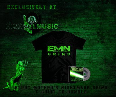 Every Mother's Nightmare - Grind CD+T-Bundle