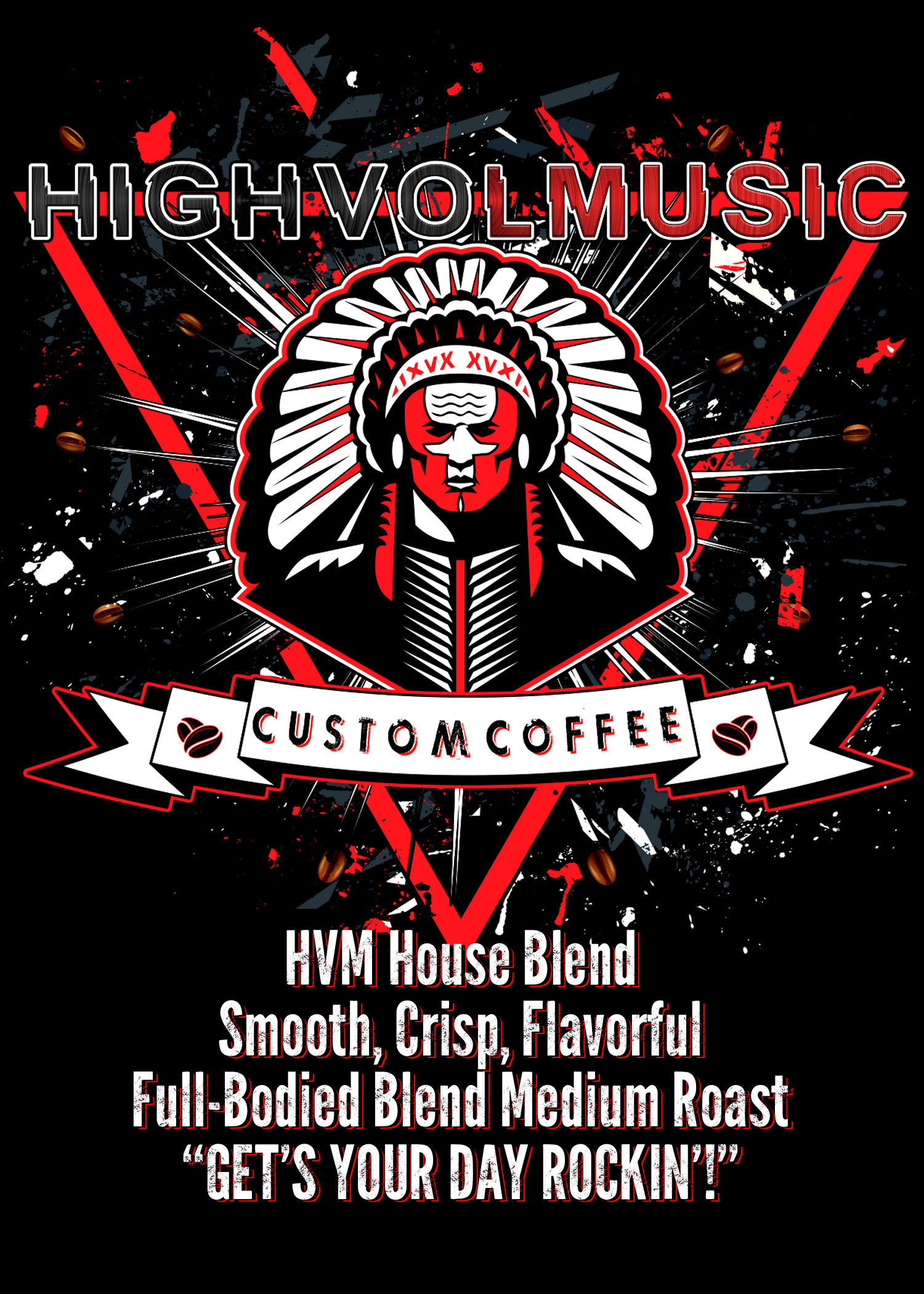 HVM Signature 'House Blend' Coffee HVMHBC